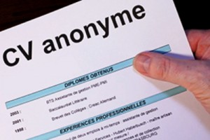 CV-anonyme