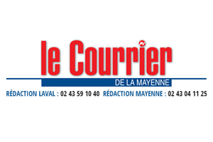 le courrier logo