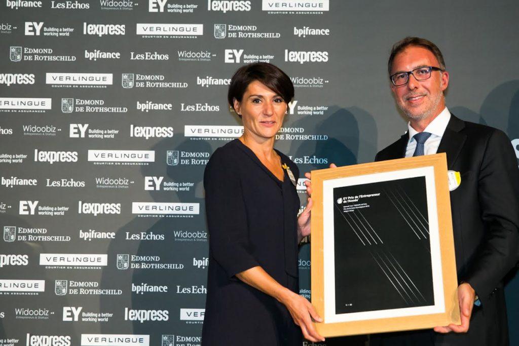 Samuel Tual, président du Groupe Actual, remporte le Prix de la Vision Stratégique décerné par EY.